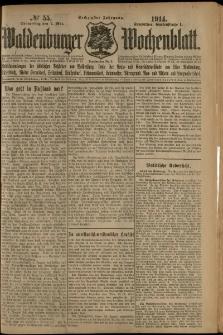 Waldenburger Wochenblatt, Jg. 60, 1914, nr 55