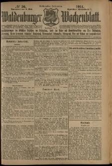 Waldenburger Wochenblatt, Jg. 60, 1914, nr 56