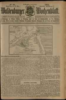 Waldenburger Wochenblatt, Jg. 60, 1914, nr 58