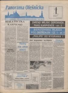 Panorama Oleśnicka: dwutygodnik Ziemi Oleśnickiej, 1991, nr 34