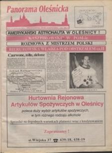 Panorama Oleśnicka: dwutygodnik Ziemi Oleśnickiej, 1991, nr 35