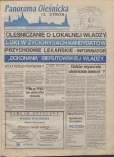 Panorama Oleśnicka: dwutygodnik Ziemi Oleśnickiej, 1991, nr 36