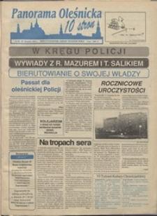Panorama Oleśnicka: dwutygodnik Ziemi Oleśnickiej, 1991, nr 38