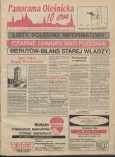 Panorama Oleśnicka: dwutygodnik Ziemi Oleśnickiej, 1991, nr 39