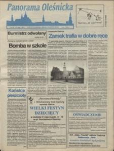 Panorama Oleśnicka: dwutygodnik Ziemi Oleśnickiej, 1992, nr 54