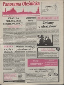 Panorama Oleśnicka: dwutygodnik Ziemi Oleśnickiej, 1992, nr 59