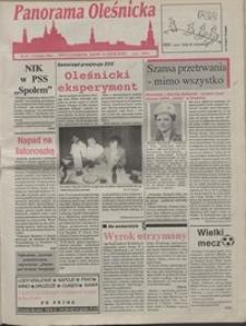 Panorama Oleśnicka: dwutygodnik Ziemi Oleśnickiej, 1992, nr 63