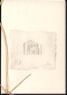 Misterium światła i opłatka : grafika Marka Sobacińskiego - zaproszenie [Dokument życia społecznego]
