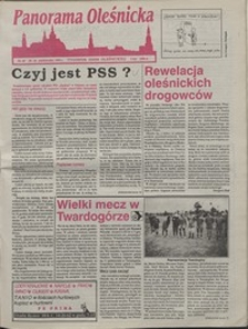 Panorama Oleśnicka: tygodnik Ziemi Oleśnickiej, 1992, nr 69