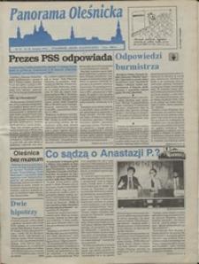 Panorama Oleśnicka: tygodnik Ziemi Oleśnickiej, 1992, nr 74