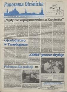 Panorama Oleśnicka: tygodnik Ziemi Oleśnickiej, 1993, nr 4