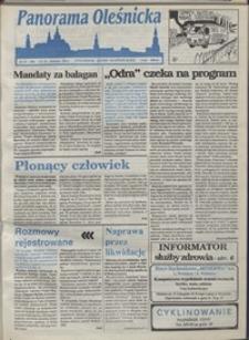 Panorama Oleśnicka: tygodnik Ziemi Oleśnickiej, 1993, nr 15