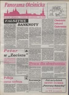 Panorama Oleśnicka: tygodnik Ziemi Oleśnickiej, 1993, nr 20