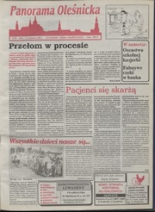Panorama Oleśnicka: tygodnik Ziemi Oleśnickiej, 1993, nr 23