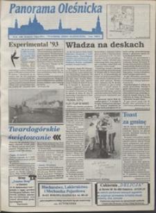 Panorama Oleśnicka: tygodnik Ziemi Oleśnickiej, 1993, nr 26
