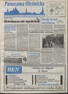 Panorama Oleśnicka: tygodnik Ziemi Oleśnickiej, 1993, nr 30