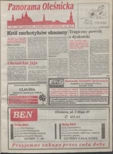 Panorama Oleśnicka: tygodnik Ziemi Oleśnickiej, 1993, nr 31