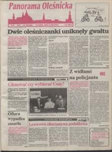 Panorama Oleśnicka: tygodnik Ziemi Oleśnickiej, 1993, nr 34