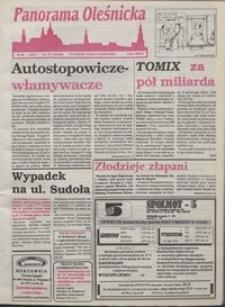 Panorama Oleśnicka: tygodnik Ziemi Oleśnickiej, 1993, nr 38
