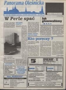 Panorama Oleśnicka: tygodnik Ziemi Oleśnickiej, 1993, nr 39