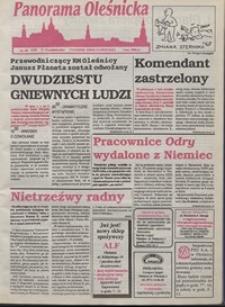 Panorama Oleśnicka: tygodnik Ziemi Oleśnickiej, 1993, nr 40