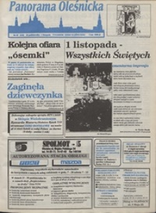 Panorama Oleśnicka: tygodnik Ziemi Oleśnickiej, 1993, nr 43
