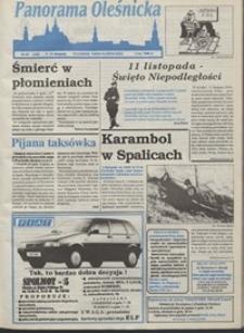 Panorama Oleśnicka: tygodnik Ziemi Oleśnickiej, 1993, nr 45