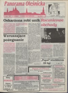 Panorama Oleśnicka: tygodnik Ziemi Oleśnickiej, 1993, nr 46