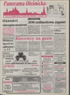 Panorama Oleśnicka: tygodnik Ziemi Oleśnickiej, 1993, nr 48