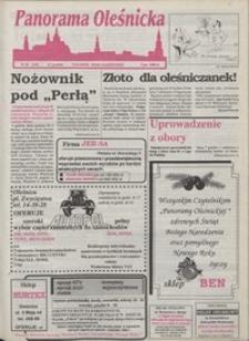 Panorama Oleśnicka: tygodnik Ziemi Oleśnickiej, 1993, nr 50