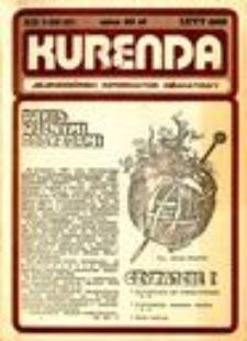 Kurenda : jeleniogórski informator oświatowy, 1988, nr 1 (10)