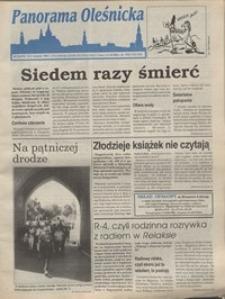 Panorama Oleśnicka: tygodnik Ziemi Oleśnickiej, 1995, nr 33