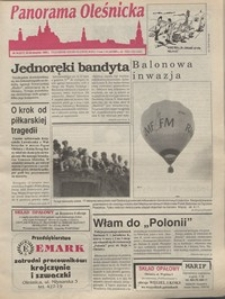 Panorama Oleśnicka: tygodnik Ziemi Oleśnickiej, 1995, nr 34