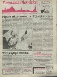 Panorama Oleśnicka: tygodnik Ziemi Oleśnickiej, 1995, nr 40
