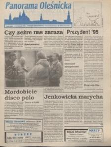 Panorama Oleśnicka: tygodnik Ziemi Oleśnickiej, 1995, nr 45