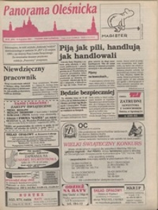 Panorama Oleśnicka: tygodnik Ziemi Oleśnickiej, 1995, nr 50