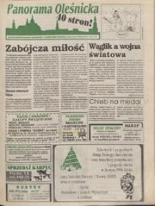 Panorama Oleśnicka: tygodnik Ziemi Oleśnickiej, 1995, nr 51/52