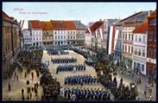Ohlau - Parade der Schill-Husaren [Dokument ikonograficzny]