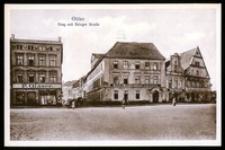 Ohlau - Ring mit Brieger Strasse [Dokument ikonograficzny]