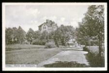 Ohlau - Partie am Stadtpark [Dokument ikonograficzny]