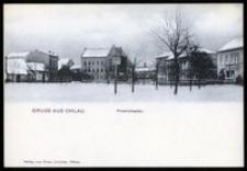 Gruss aus Ohlau - Friedrichsplatz [Dokument ikonograficzny]