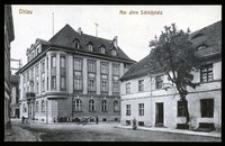 Ohlau - Am alten Schlossplatz [Dokument ikonograficzny]