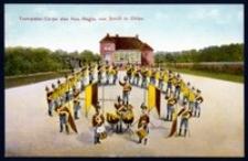 Trompeter-Corps des Hus.-Regts.von Schill in Ohlau [Dokument ikonograficzny]