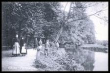 Ohlau - Parkpartie [Dokument ikonograficzny]