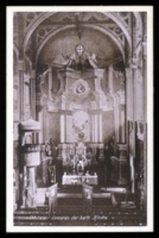 Ohlau - Inneres der kath. Kirche [Dokument ikonograficzny]