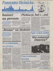Panorama Oleśnicka: tygodnik Ziemi Oleśnickiej, 1994, nr 3