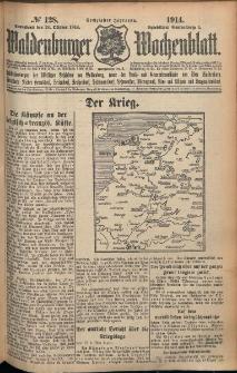 Waldenburger Wochenblatt, Jg. 60, 1914, nr 128