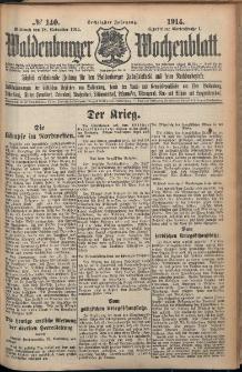 Waldenburger Wochenblatt, Jg. 60, 1914, nr 140