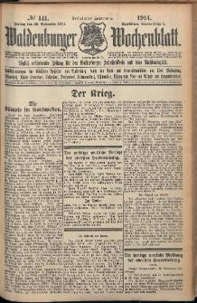 Waldenburger Wochenblatt, Jg. 60, 1914, nr 141