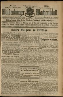 Waldenburger Wochenblatt, Jg. 60, 1914, nr 153